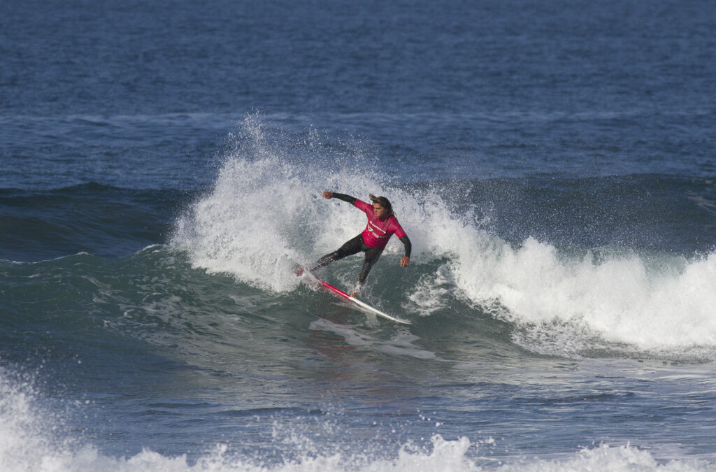 Perfect Conditions on Day Two of the Australian Indigenous Surfing Titles at Bells Beach